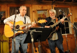 Laurence Baer and Art Wachter at Wagon Shed, New Freedom, PA